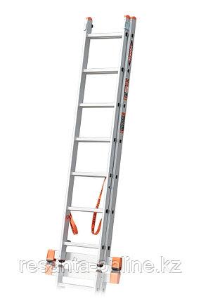 Лестница алюминиевая ВИХРЬ ЛА 2х7, фото 2
