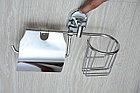 Настенный бумагодержатель с освежителем, фото 2