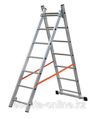 Лестница алюминиевая ВИХРЬ ЛА 2х9, фото 2