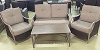 Набор мебели, искусственный ротанг АЛОЭ, фото 1