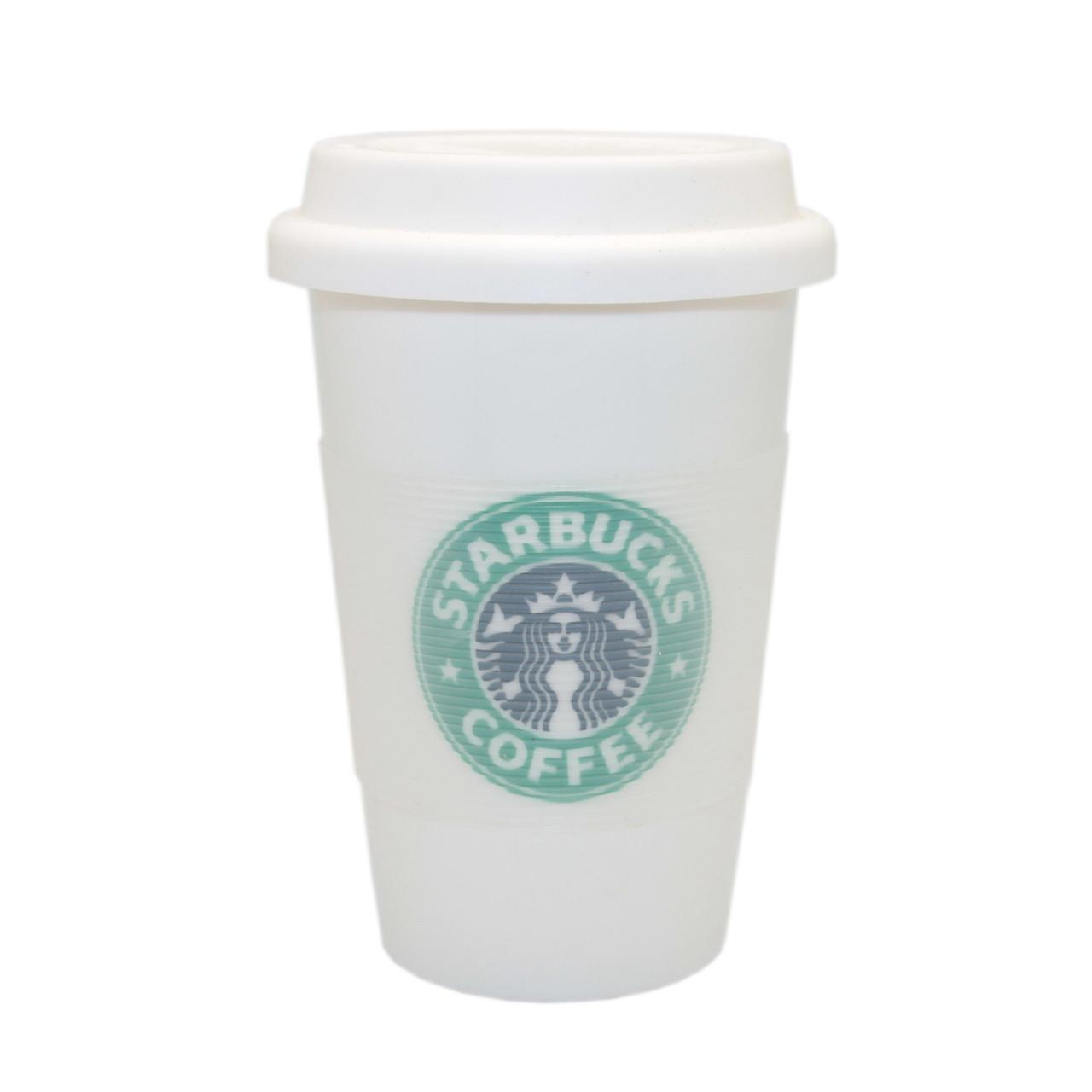 Кружка Starbucks с резиновой крышкой