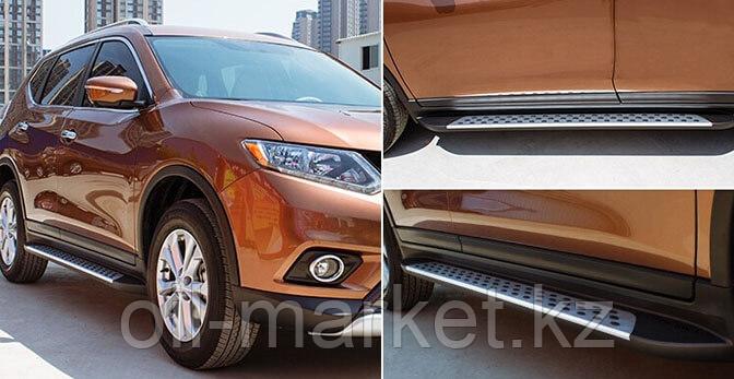 Пороги, Original Style, для Nissan X-Trail (2014-2019)