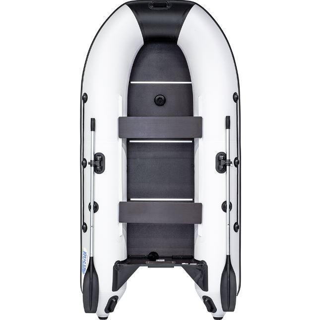 Лодка надувная моторно-гребная килевая Rush 3000 СК, Грузоподъемность: 450кг, Вместимость: 2 чел., Кол-во отсе
