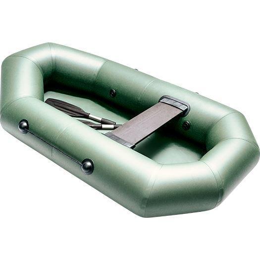 Лодка надувная гребная плоскодонная Rush 200, Грузоподъемность: 120кг, Вместимость: 1 чел., Кол-во отсеков: 2,