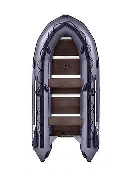 Лодка надувная моторно-гребная килевая Apache 3700 СК , Грузоподъемность: 750кг, Вместимость: 5 чел., Кол-во о