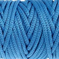 Шнур для рукоделия полиэфирный 'Софтино' 4 мм, 50м/110гр (синий)