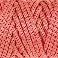 Шнур для рукоделия полиэфирный 'Софтино' 4 мм, 50м/110гр (коралловый)