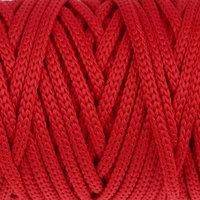 Шнур для рукоделия полиэфирный 'Софтино' 4 мм, 50м/110гр (красный)