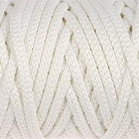 Шнур для рукоделия полиэфирный 'Софтино' 4 мм, 50м/110гр (белый)