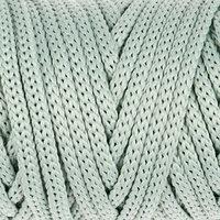 Шнур для рукоделия полиэфирный 'Софтино' 4 мм, 50м/110гр (серо-зеленый)