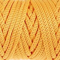 Шнур для рукоделия полиэфирный 'Софтино' 4 мм, 50м/110гр (жёлтый)