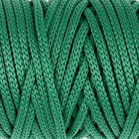 Шнур для рукоделия полиэфирный 'Софтино' 4 мм, 50м/110гр (зелёный)