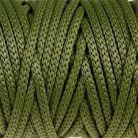 Шнур для рукоделия полиэфирный 'Софтино' 4 мм, 50м/110гр (оливковый)