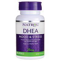 Natrol, DHEA, ДГЭА 25 мг, 90 таблеток