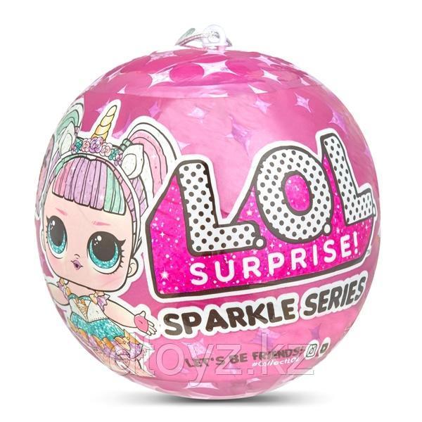 LOL Sparkle series - Кукла ЛОЛ Сюрприз в шарике, Гламурная Сверкающая серия