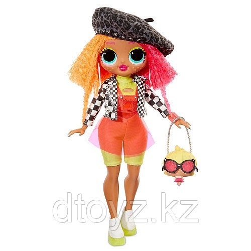 "LOL Surprise - Модная Кукла ""OMG"" Неон Люциус (Neonlicious), ЛОЛ Сюрприз"