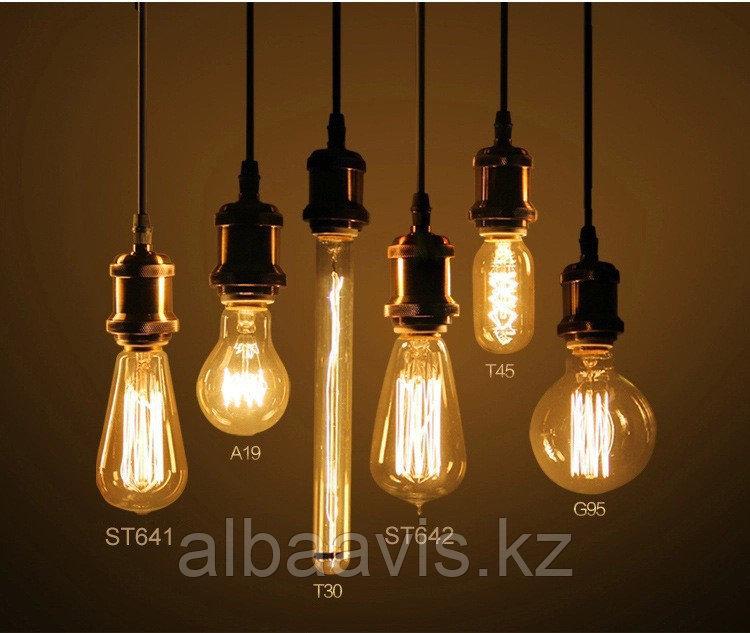 LED лампы Эдисона,  лампы ретро-стиля, ретро лампы, винтажные лампы, старинные лампы, лампы эдисона