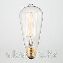 LED лампы Эдисона 6 ватт,  лампы ретро-стиля, ретро лампы, винтажные лампы, старинные лампы