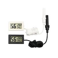 Термометр гигрометр цифровой (Черный)