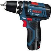 Аккумуляторный шуруповёрт Bosch GSR 10,8-2-LI (NEW case version)