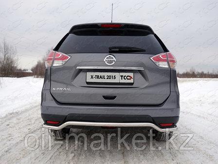 Защита заднего бампера, круглая волна для Nissan X-Trail T32 (2015-2018), фото 2