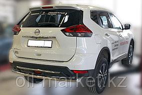Защита заднего бампера, круглая для Nissan X-Trail  (2019-), фото 2