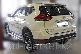 Защита заднего бампера, уголки для Nissan X-Trail  (2019-), фото 2