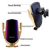 Беспроводная зарядка в автомобиль smart sensor R1, фото 2