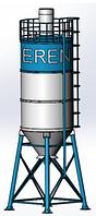 Cилос цемента S100 комплектующий на БСУ