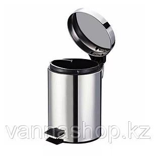 Педальная урна 12 литров (Хром).