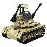 Радиоуправляемый гусеничный танк конструктор 2 в 1, фото 3