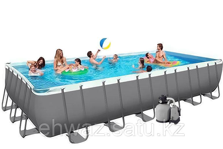 Каркасный бассейн Intex Rectangular Ultra Frame Pool 732*366*132