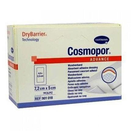 Самоклеящаяся повязки с технологией DryBarrier COSMOPOR Advance 7,2 х 5 см, фото 2