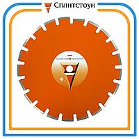 Отрезной алмазный круг сегментный по шамоту-350, серия Premium