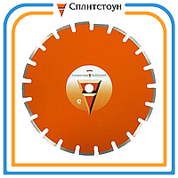 Отрезной алмазный круг сегментный по шамоту-300, серия Premium