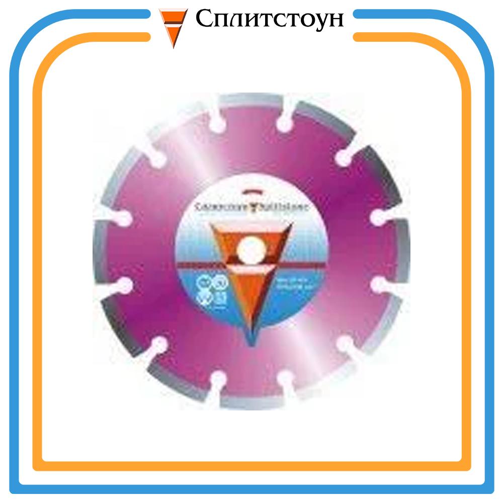 Отрезной алмазный круг сегментный по свежему бетону-350, серия Premium