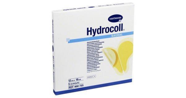 Гидрокольные повязки на область крестца HYDROCOLL sacral 12 х 18 см