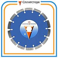 Отрезной алмазный круг сегментный по бетону-350, серия Premium