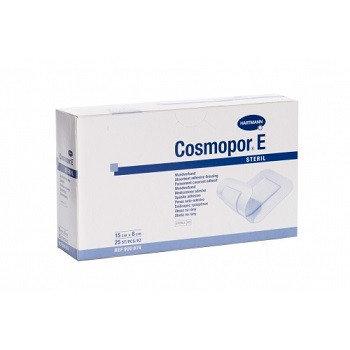 Самоклеящиеся послеоперационная повязка COSMOPOR E steril 10 х 6 см, фото 2