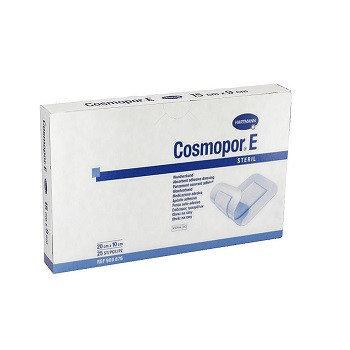 Самоклеящиеся послеоперационная повязка COSMOPOR E steril 20 х 10 см, фото 2