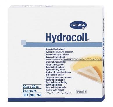 Гидроколлоидные повязки HYDROCOLL 20 х 20 см, фото 2