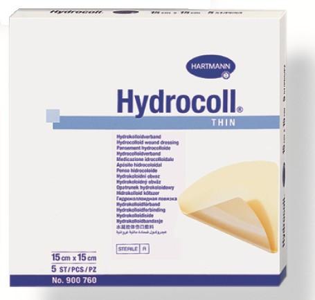 Гидрокольные повязки на слабоэкссудирующие раны HYDROCOLL thin 15 х 15см