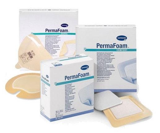 Самоклеящиеся губчатые повязки PERMAFOAM comfort 15 х 15 см, фото 2