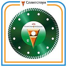 Отрезной алмазный круг Turbo по граниту-180, серия Professional