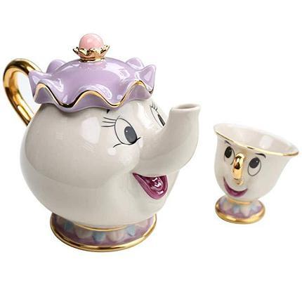 Набор Чайник и кружка (красавица и чудовище), фото 2