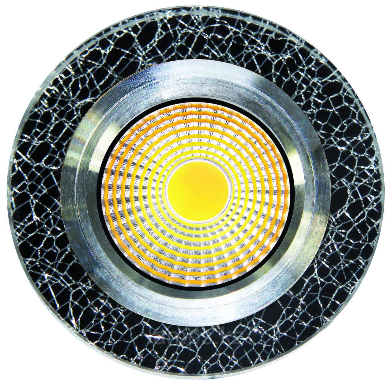 Спот встраиваемый светодиодный LED QX-11 Круглый Gold