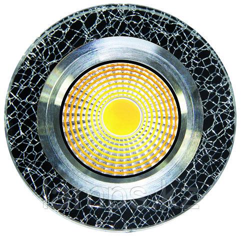Спот встраиваемый светодиодный LED QX-11 Круглый Gold , фото 2