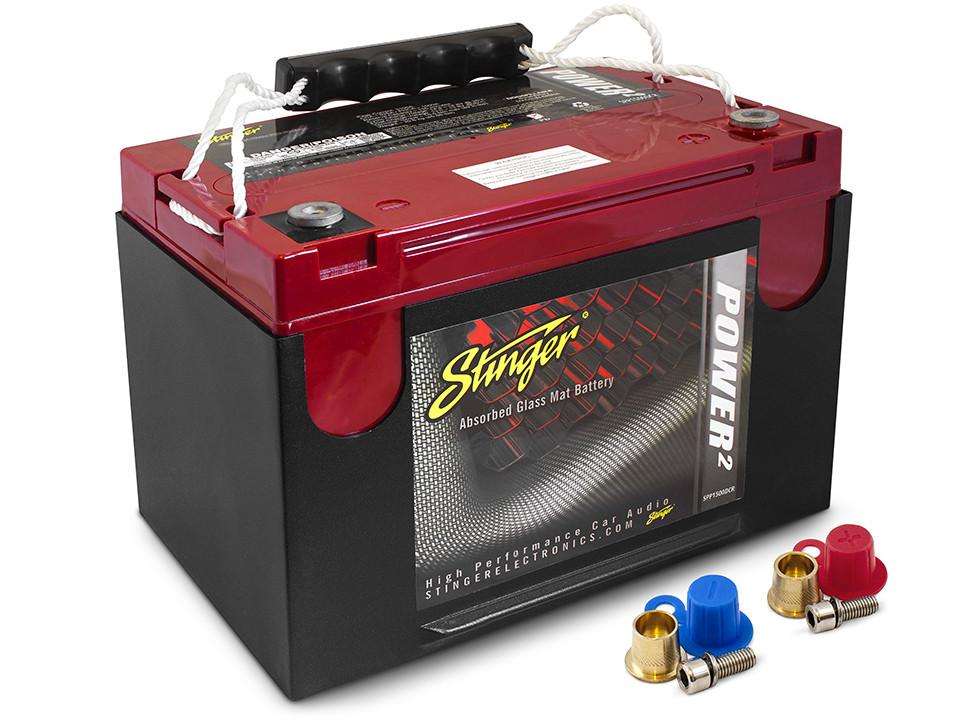 Аккумулятор автомобильный Stinger SPP1500DCR AGM