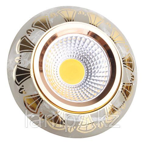 Спот встраиваемый MR16 YS7003 Marble+Gold GU5.3 , фото 2