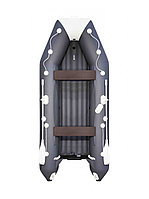 Лодка надувная АКВА 3600 НДНД графит/светло- серый, фото 1
